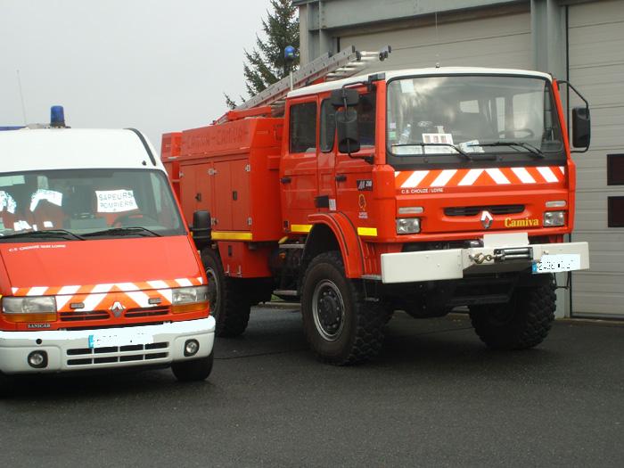 Sapeurs Pompiers de Chouzé-sur-loire