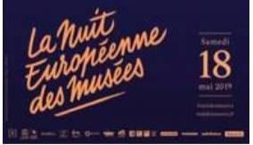 Nuit des Musées 18 mai 2019