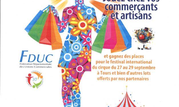 Fête du commerce en Touraine