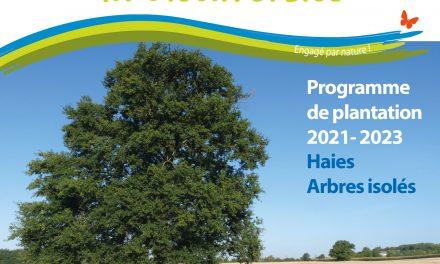 Plantation de haies et d'arbres isolés avec le CPIE et la CC CVL